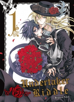Couverture Undertaker Riddle, tome 1