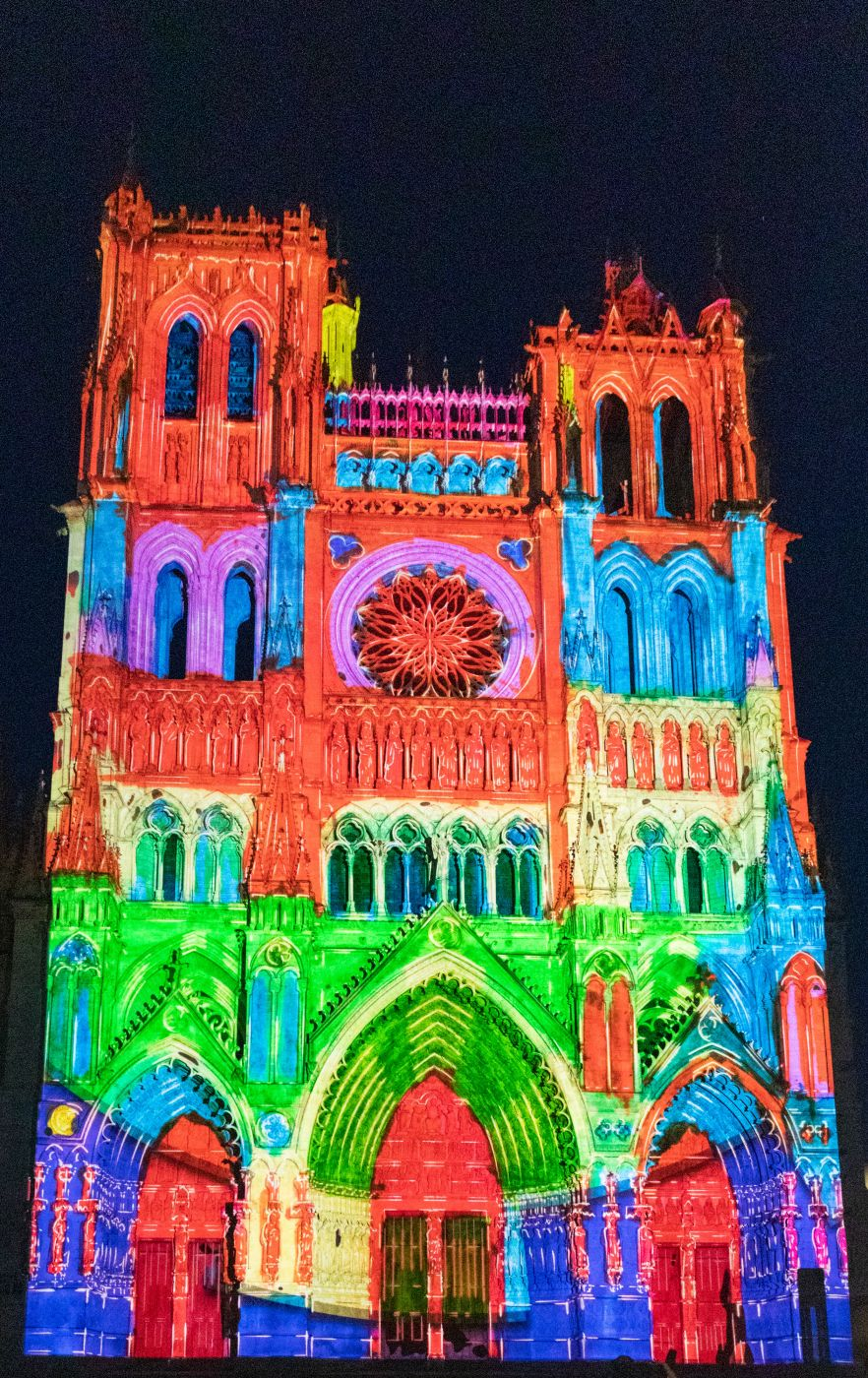 kathedrale notre dame in amiens france