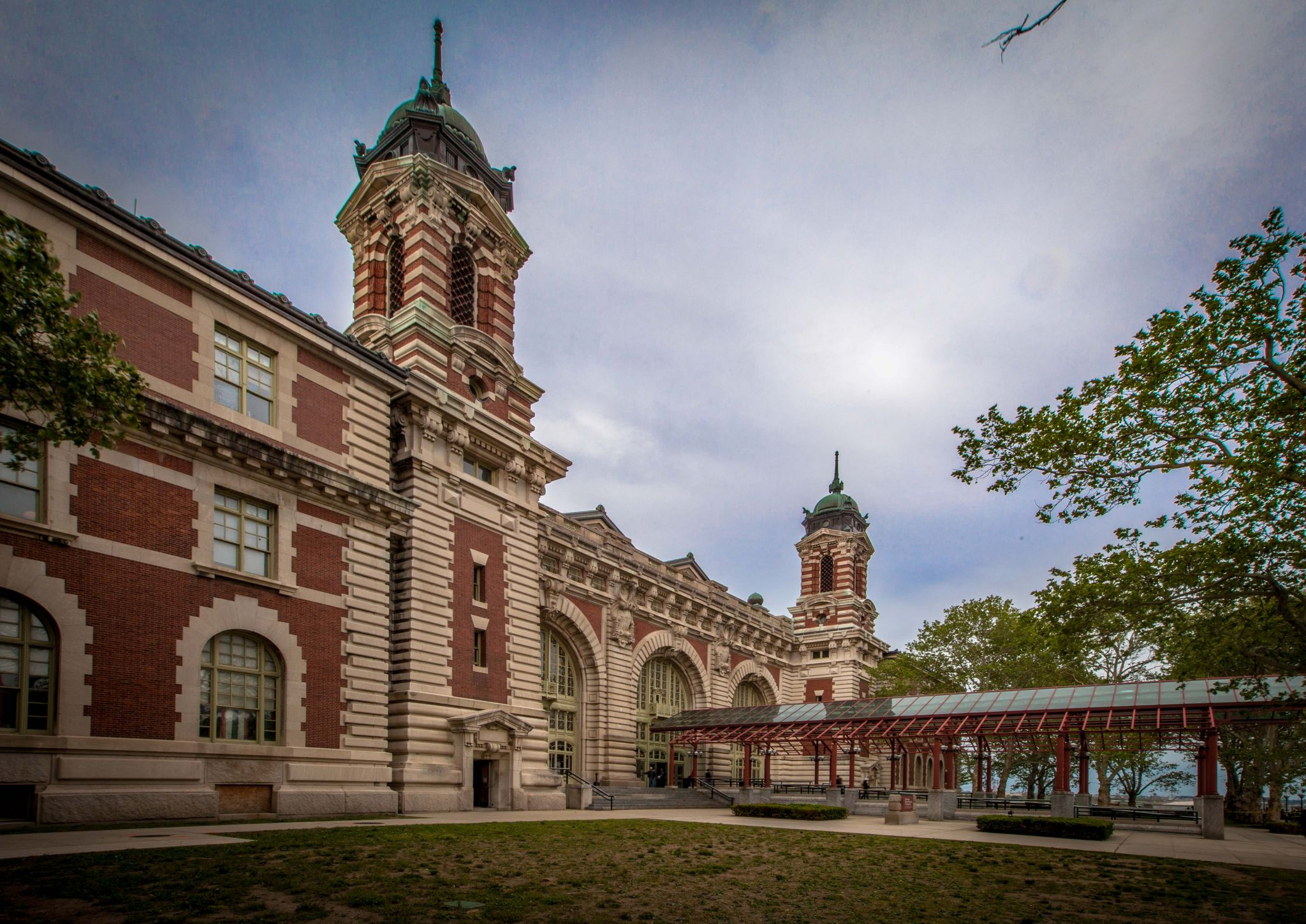 Ellis Island Immigration Station New York Usa