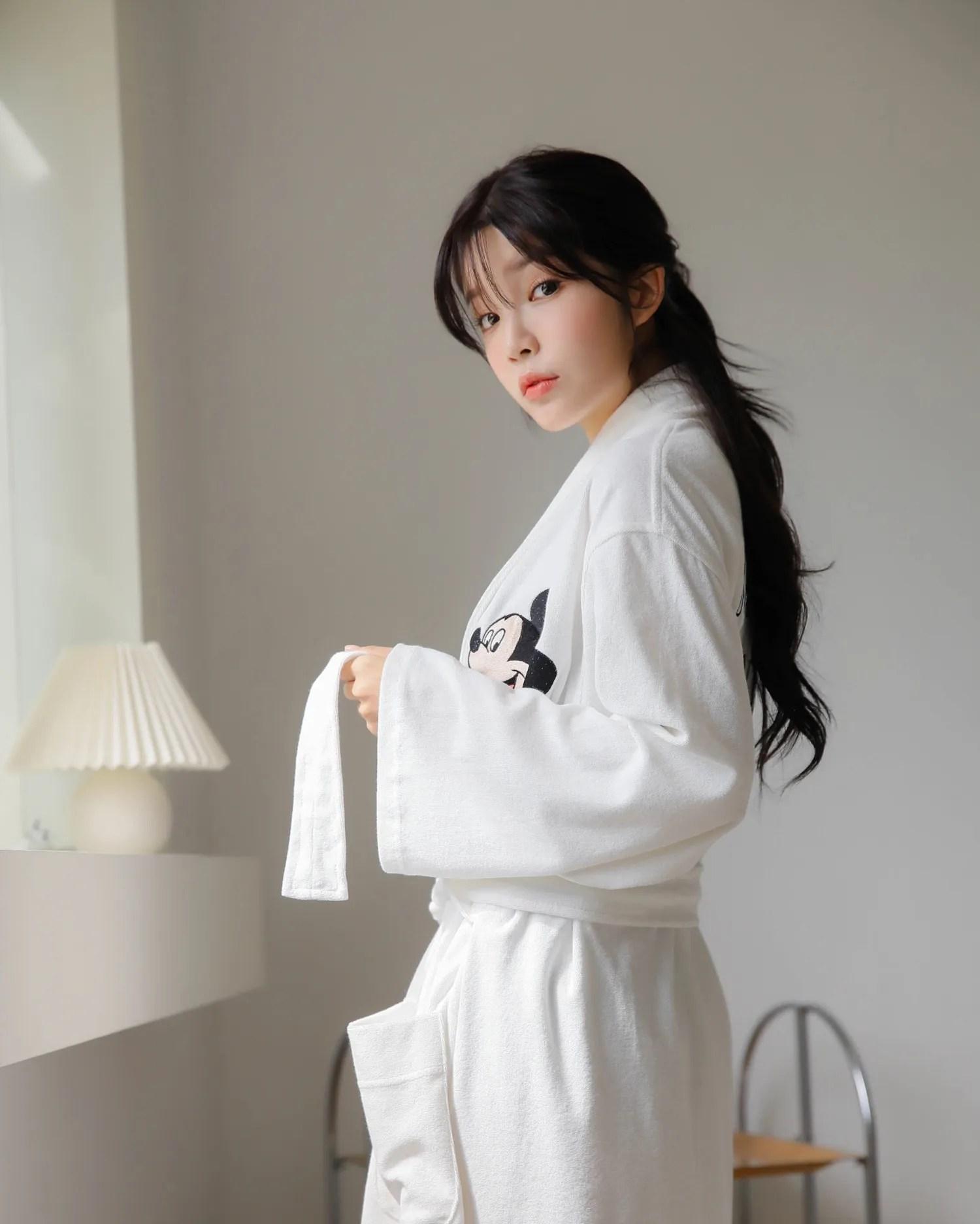 Cha Yoojin / NUDMALL / September 2021 / Daily Tight Lingerie