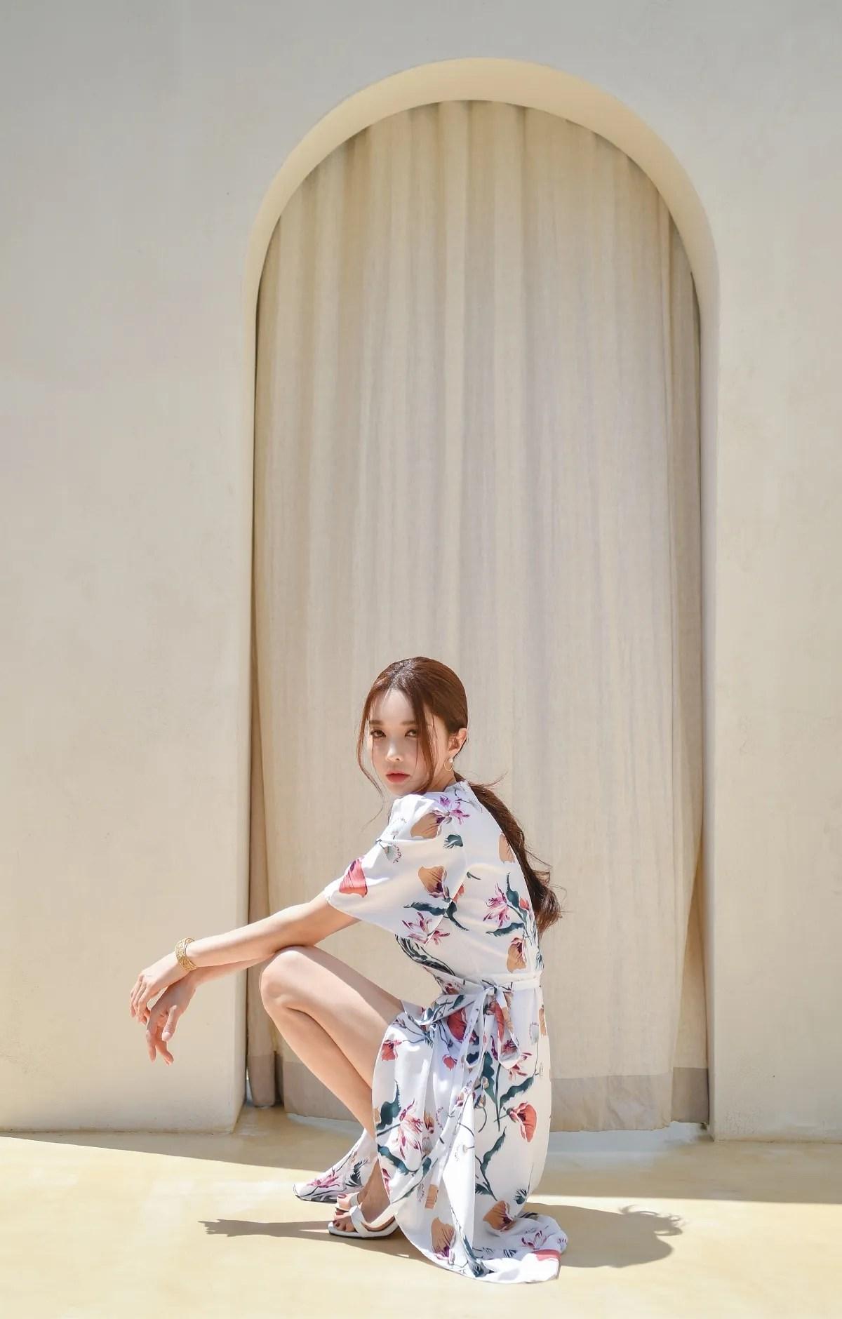 Park Suyeon / vendis / May 2021 / Sundress & Monokini Photoshoot Part 2