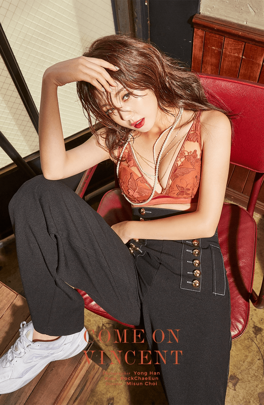Lee Chaeeun - COME ON VINCENT - December 2018 Lingerie Photoshoot (full set in comments)