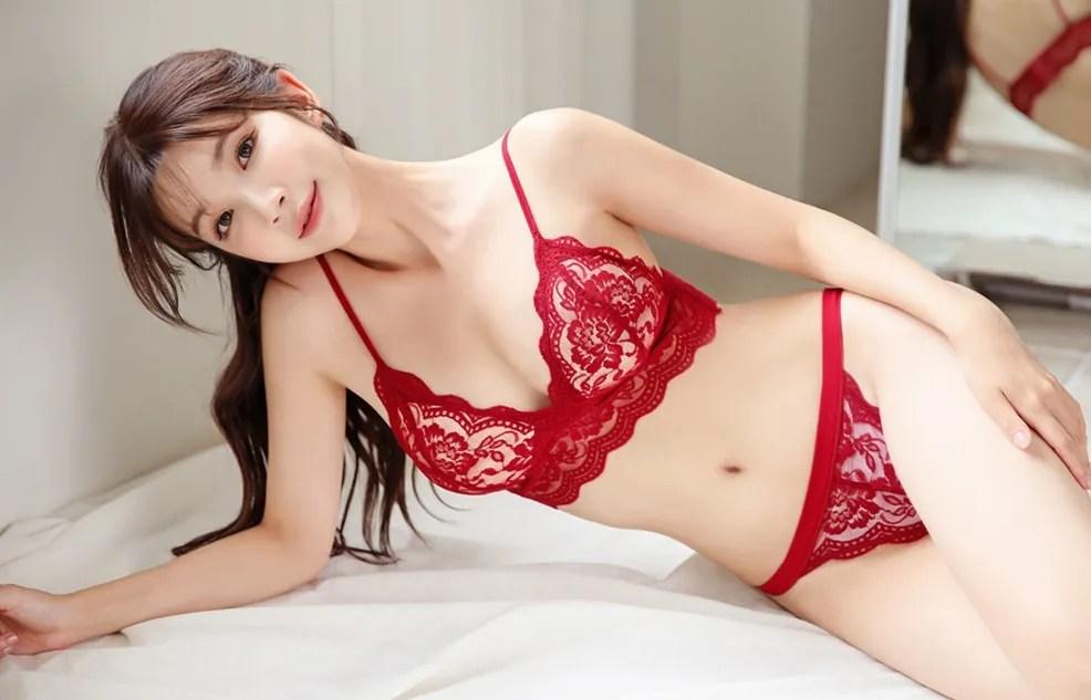 Cha Yoojin / NUDMALL / August 2021 / Darling Lace Lingerie