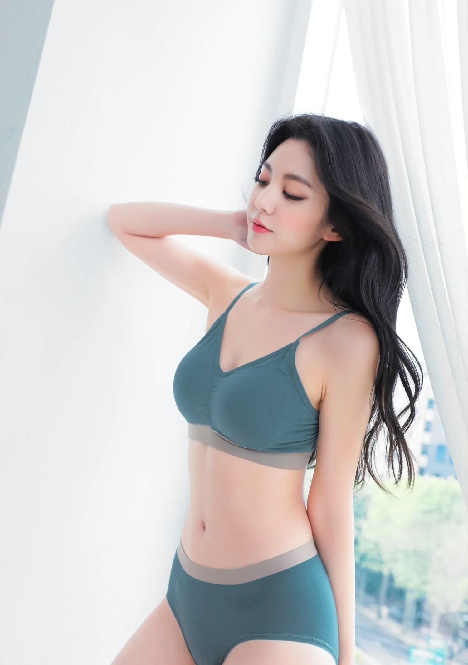 Lee Chaeeun / NUDMALL / July 2021 / Organic Basic Lingerie