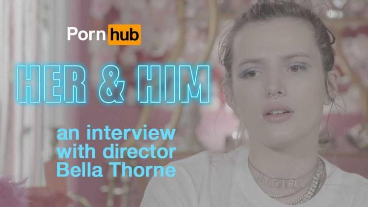 【新聞】迪士尼女星貝拉索恩執導成人網站Pornhub短片