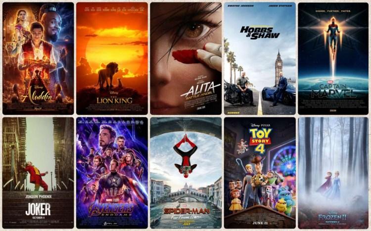 【票房】2019台灣十大熱門電影,你總共看了幾部?