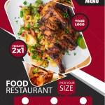 Food Restaurant Flyer Template Image Picture Free Download 450006188 Lovepik Com