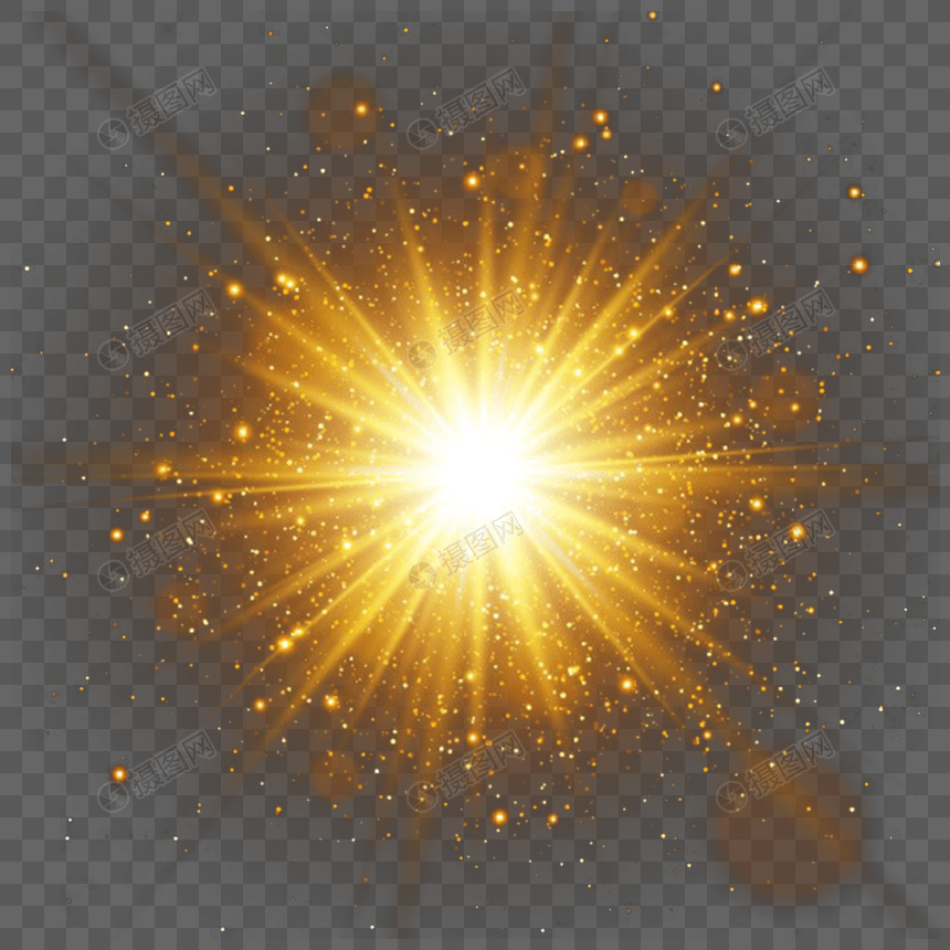 Red Png Flare Effect Lens