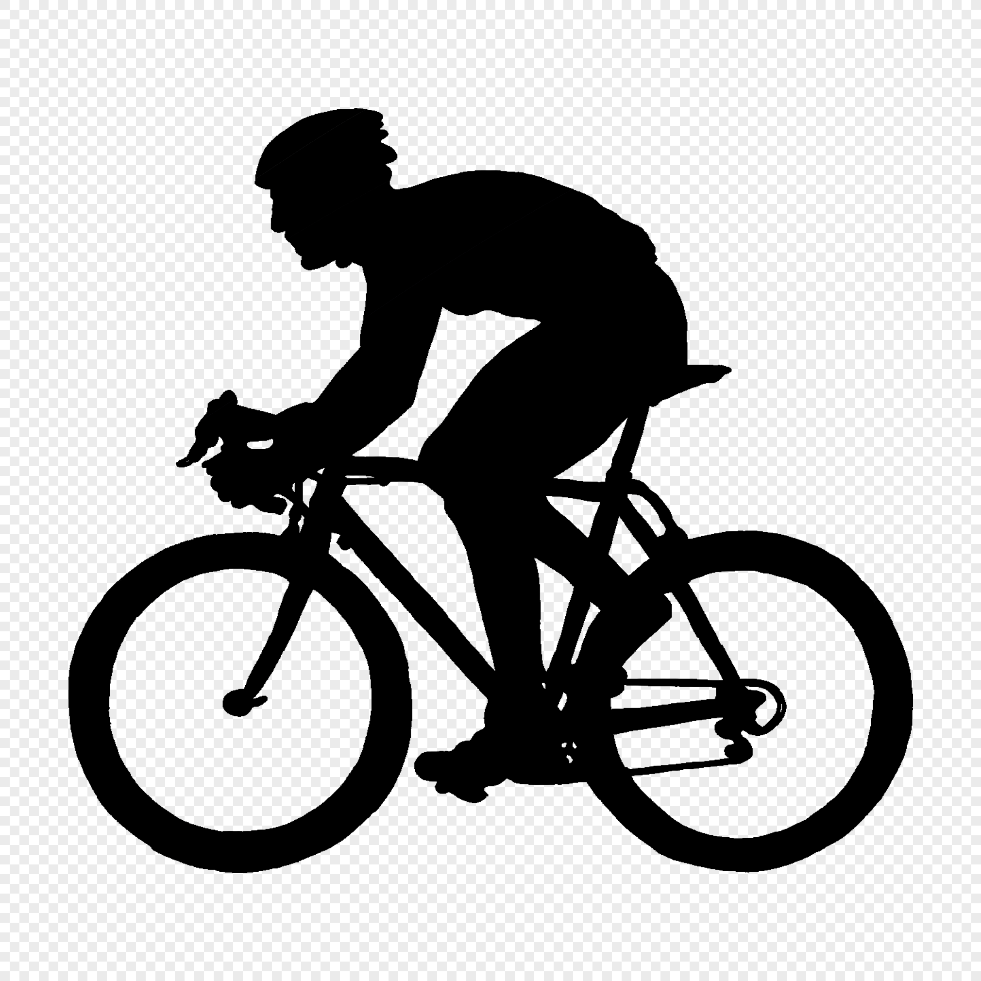 Cycling Silhouette Image Picture Free Download