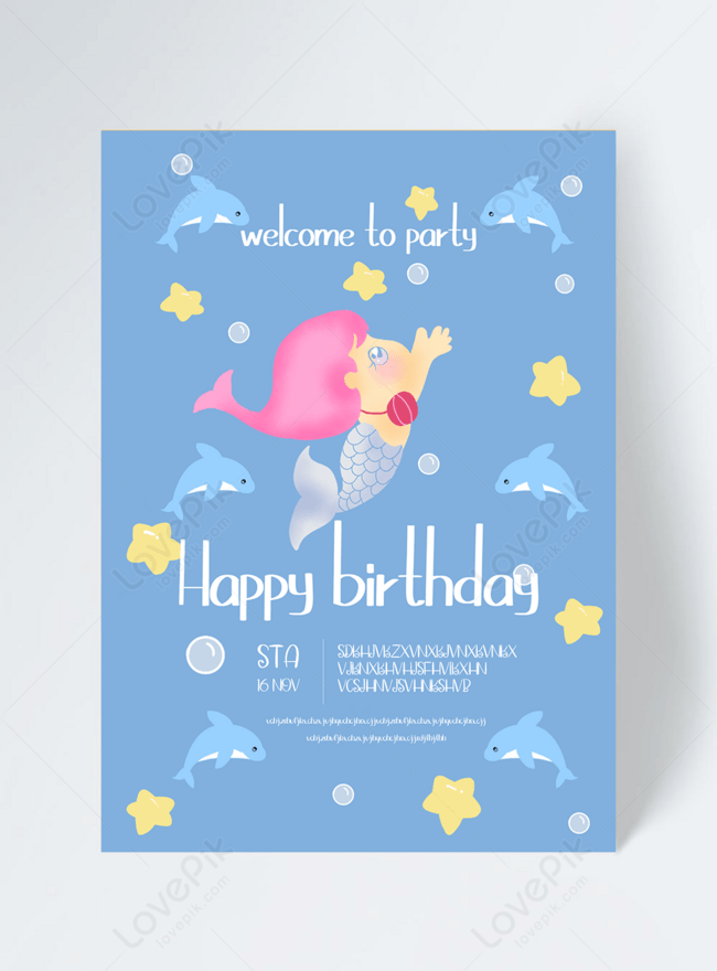 the little mermaid birthday party