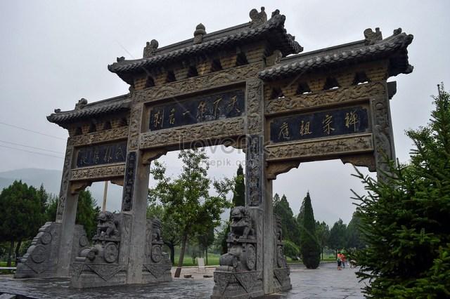 Kuil Henan Shaolin gambar unduh gratis_imej 501051152_Format  JPG_my.lovepik.com