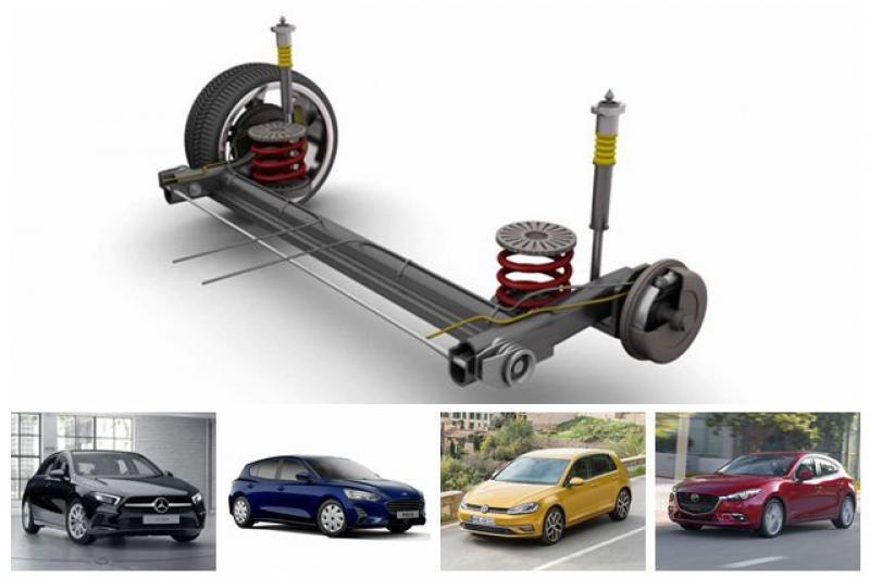 操控不再是賣點?熱門掀背紛紛回歸後扭力樑懸吊設計 - 自由電子報汽車頻道