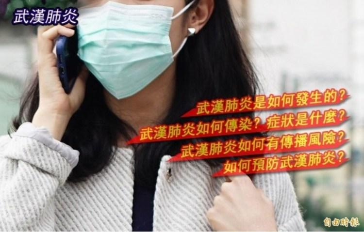 中國武漢2019新型冠狀病毒(2019-nCov)肺炎確診病例持續攀升,並已造成逾800人死亡。為讓民眾更加了解此病毒,本報整理懶人包資訊。(本報合成)