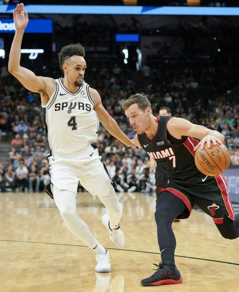 NBA》馬刺後衛紛紛傷退 懷特可望補上空缺 - 自由體育