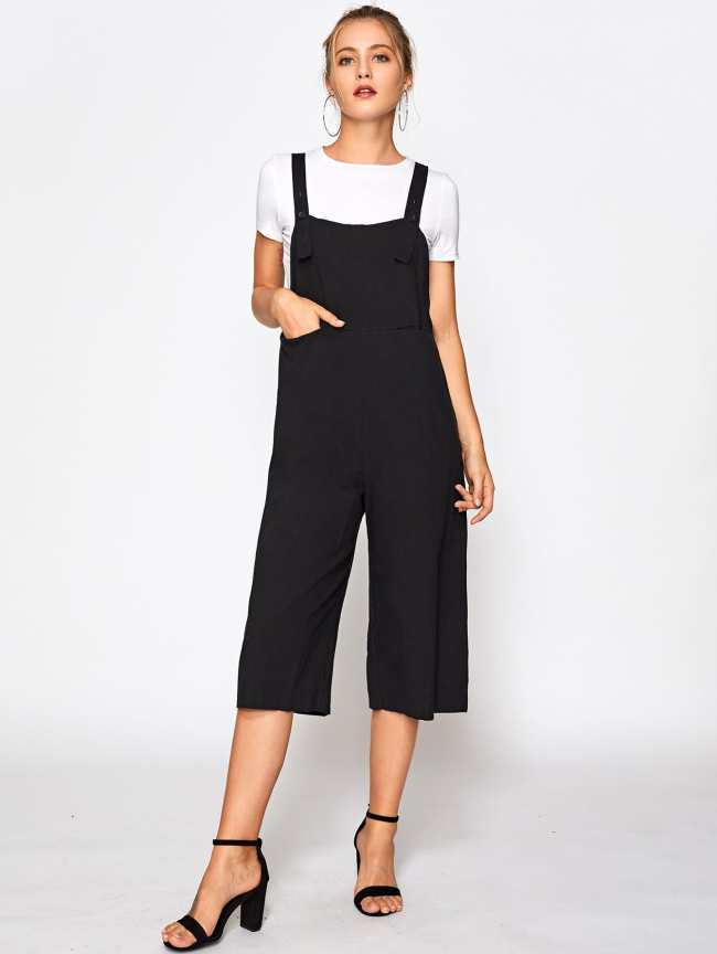 JUMPSUIT LARGO NEGRO