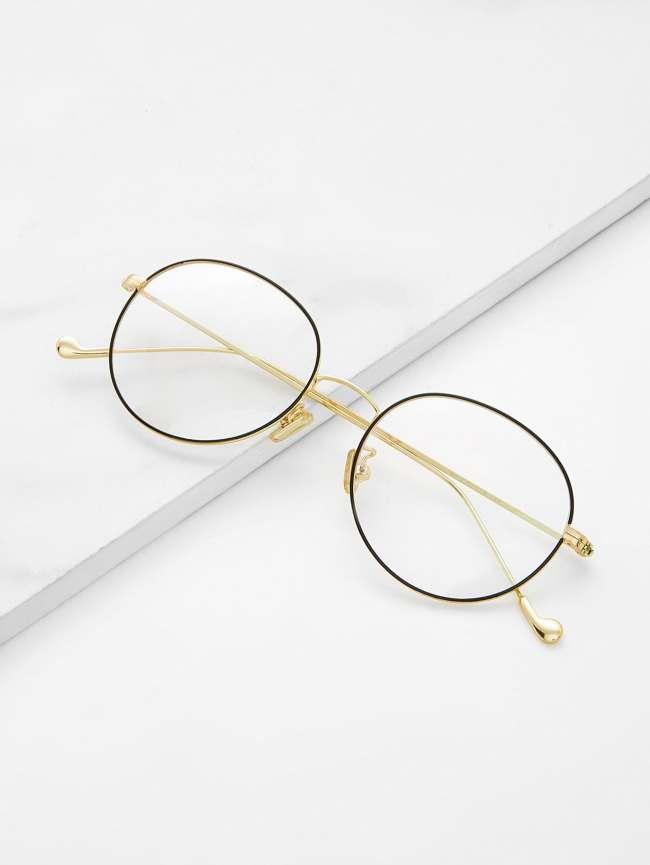 SheIn Metal Frame Glasses
