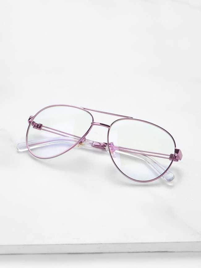 SheIn Double Bridge Aviator Glasses