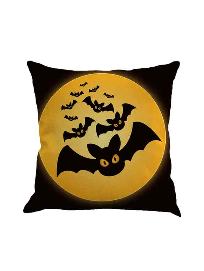 SheIn Bat Print Pillowcase Cover