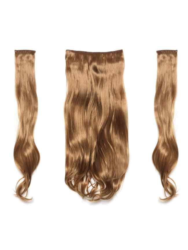 SheIn Mix Auburn Clip In Soft Wave Hair Extension 3pcs
