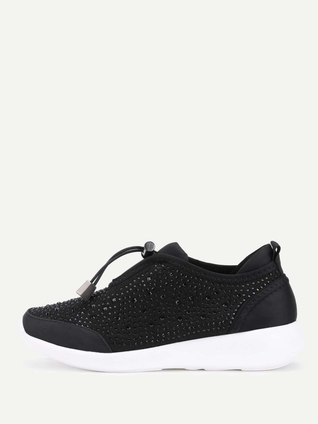 SheIn Studded Detail Low Top Sneakers