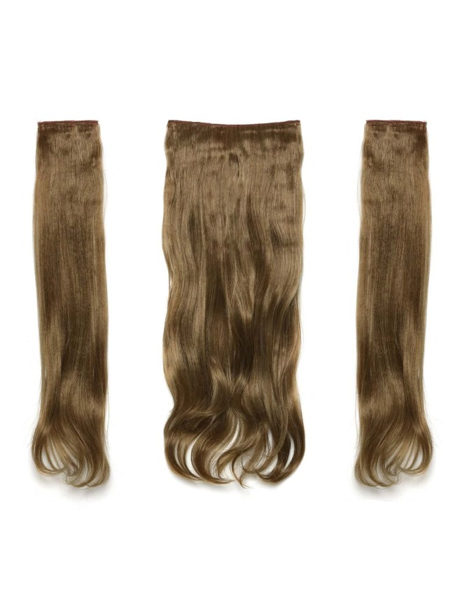 SheIn Harvest Blonde Clip In Soft Wave Hair Extension 3pcs