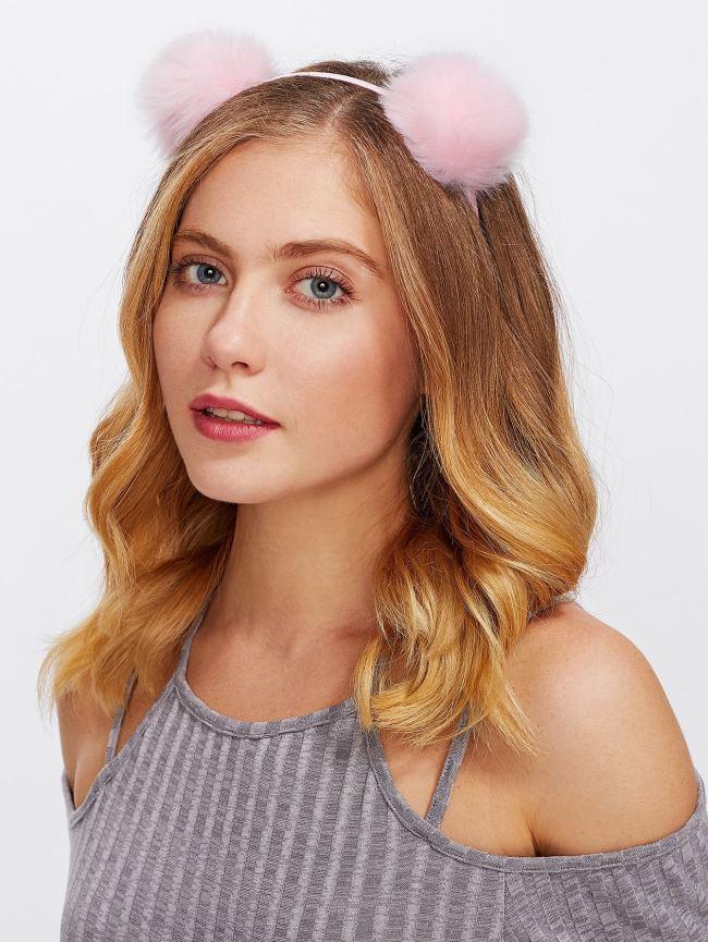 SheIn Pom Pom Ear Headband