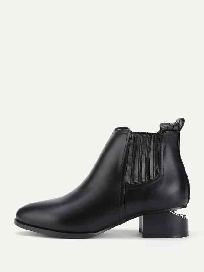 SheIn Heeled Chelsea Boots