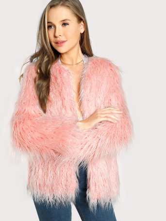 This is one of the best faux fur coats you need in your closet!