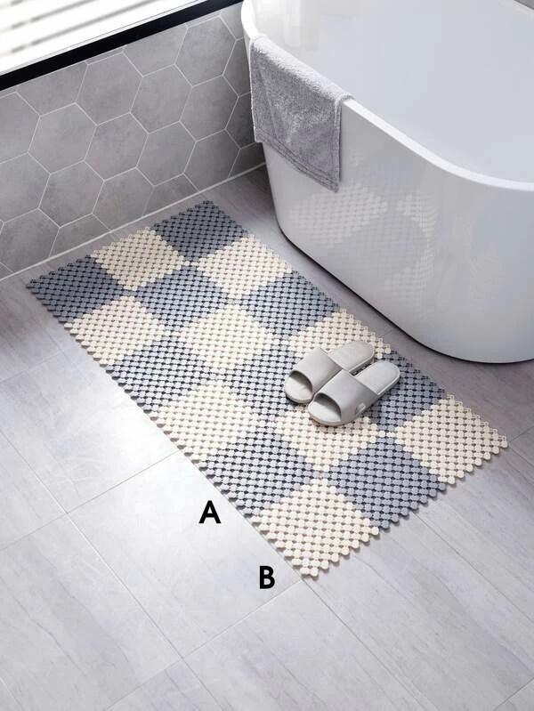 1 piece tapis antiderapant pour salle de bain