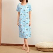 Cartoon Graphic Night Dress
