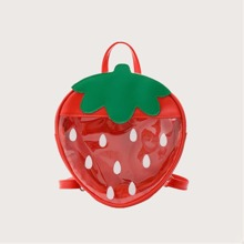 Strawberry Clear Backpack