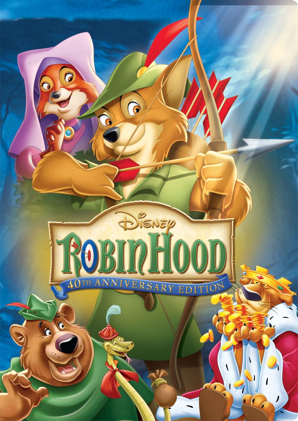 Disneys Robin Hood Cartoon