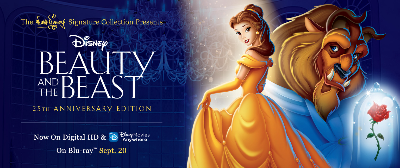 """Beauty and the Beast"" 25th Anniversary Edition"