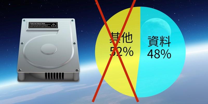 Mac 升級 macOS Sierra 的好處:儲存空間不再會有「其他」的困擾了