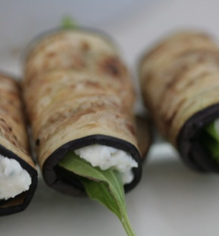 גלילי חצילים וזוקיני (צילום: אביטל סבג חורש - מומחית לרפואה טבעית  ,אוכל טוב)