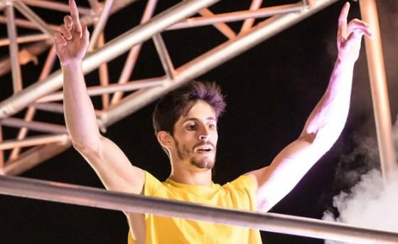 Alex Haznov in the final (Photo: Oded Karni)