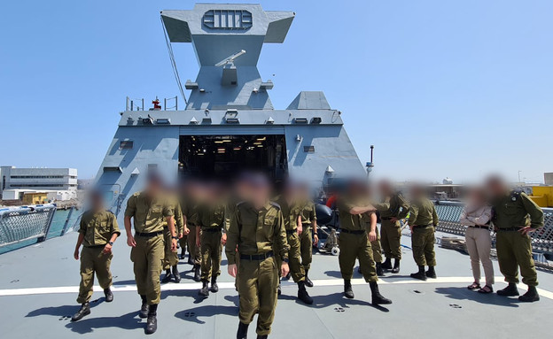 Soldats de la Marine (Photo : porte-parole de Tsahal)