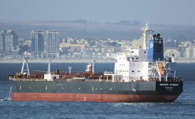 Le navire Mercer Street attaqué au large des côtes d'Oman, 2016 (Photo: AP)