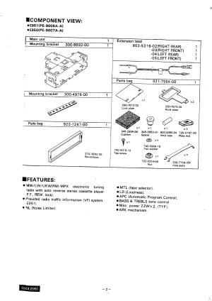 CLARION MANUAL  Auto Electrical Wiring Diagram