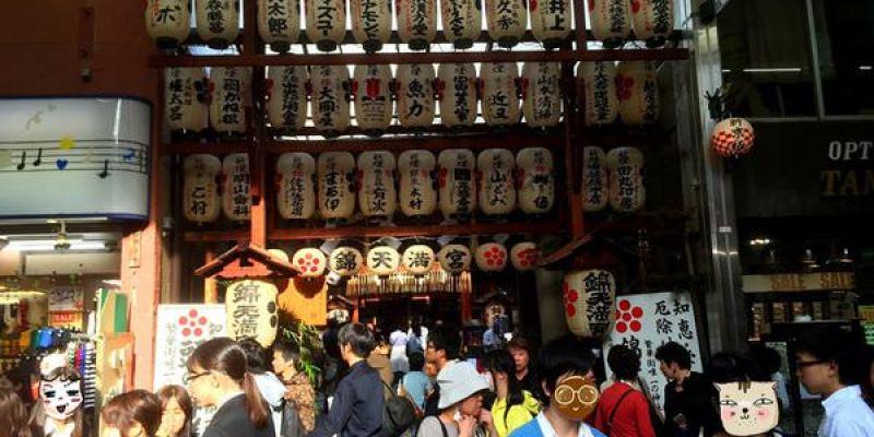 京都旅遊景點 錦天滿宮@錦市場:繁華街唯一的神社