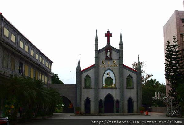 宜蘭羅東景點|北成聖母升天堂,朝聖「命中注定我愛你」拍攝場景