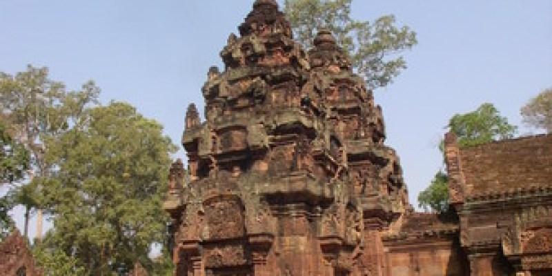 柬埔寨景點|到吳哥窟旅行的小羊兒