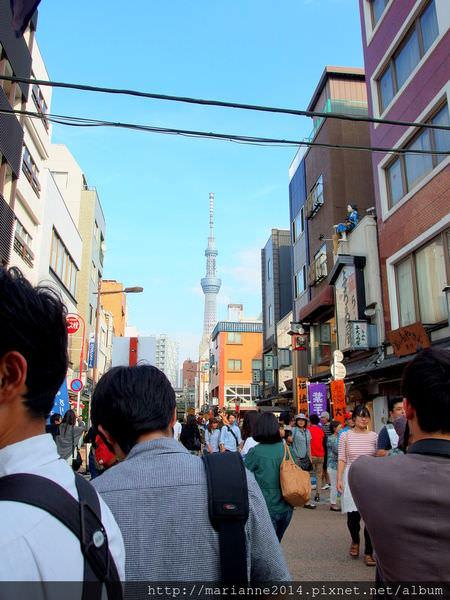 東京景點|從淺草寺散步到晴空塔(Tokyo Sky Tree)