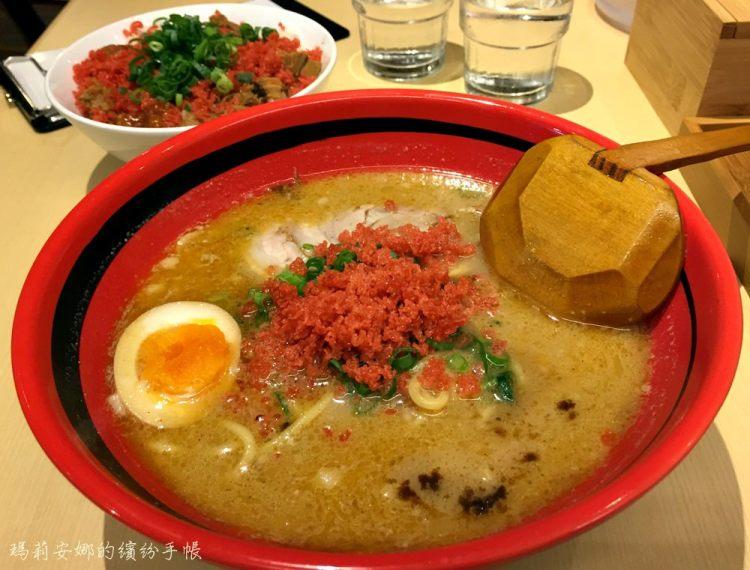 一幻拉麵 北海道超濃厚蝦味湯頭拉麵來台中囉,叉燒飯是隱藏美食 中友百貨