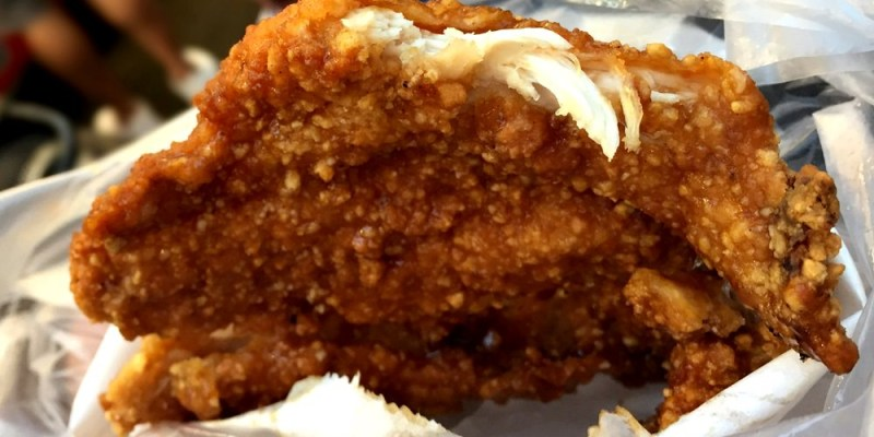 一中8兩碳烤雞排|先炸後烤 一片八兩重的雞排 食尚玩家也推薦 台中北區美食