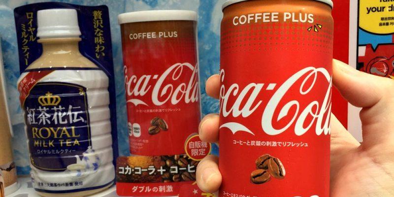日本可口可樂|可樂咖啡 Coca-Cola Coffee Plus 上市囉(暫限販賣機)