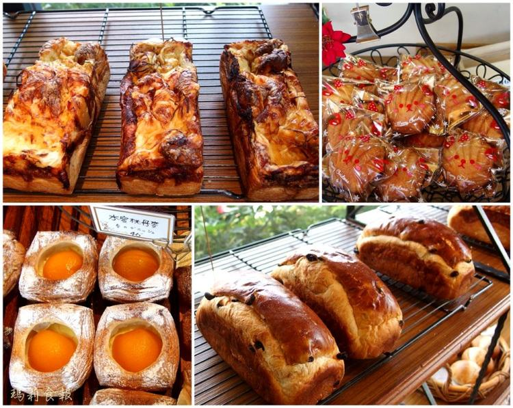台中北區 拉波兒麵包 人氣蔥麵包 可頌等多樣高品質的健康麵包