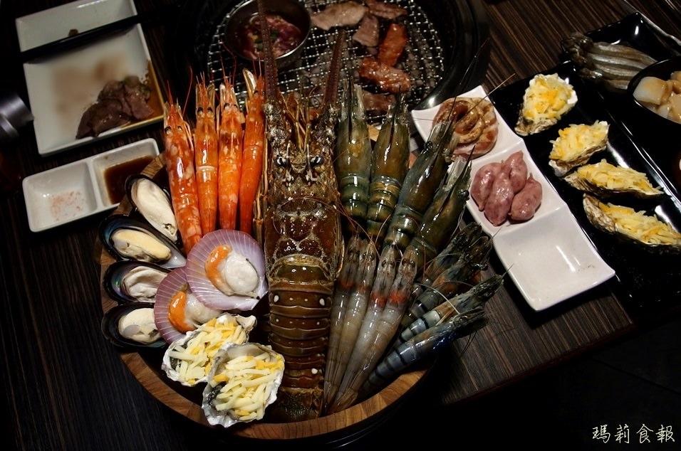 燒肉眾台中一中店,499元就能吃到飽,多種肉品海鮮無限量供應