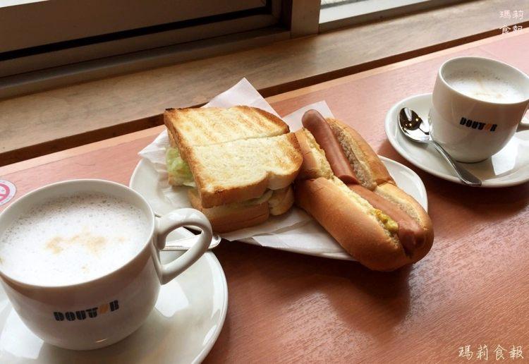東京上野美食|DOUTOR 羅多倫咖啡 到日本人氣咖啡店吃早餐