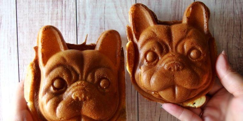 台中北區|犬首燒台中店 超可愛的法鬥雞蛋糕一中商圈開賣囉 食尚玩家也推薦